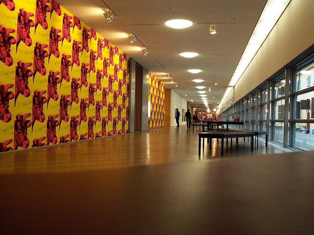 Stockholm Moderna Museet (interior)