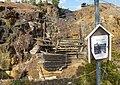 Mårtens schakt i Stollbergs gruva.