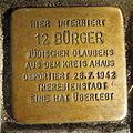 Stolperstein Ahaus Wallstraße 3 12 Bürger.JPG