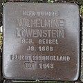 Stolperstein Bocholt Hemdener Weg 11 Wilhelmine Löwenstein.jpg