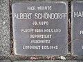 Stolperstein Düsseldorf 1 Golzheim Cecilienallee 19 Albert Schöndorff 2018-08-05.JPG