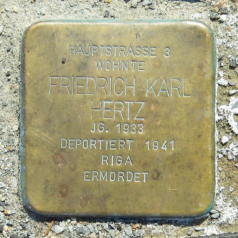 Stolperstein Friedrich Karl Hertz Bonfeld 2019-04-01 SDIM9942.jpg