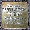 Stolperstein Seesener Str 18 (Halsee) Elsbeth Meirowsky.jpg
