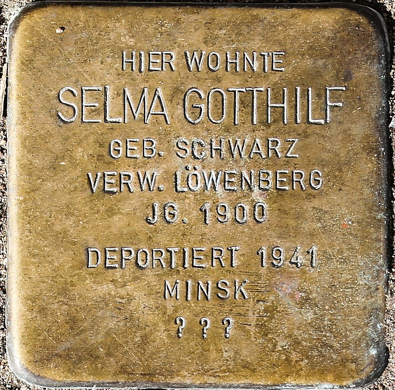Stolperstein Selma Gotthilf.jpg