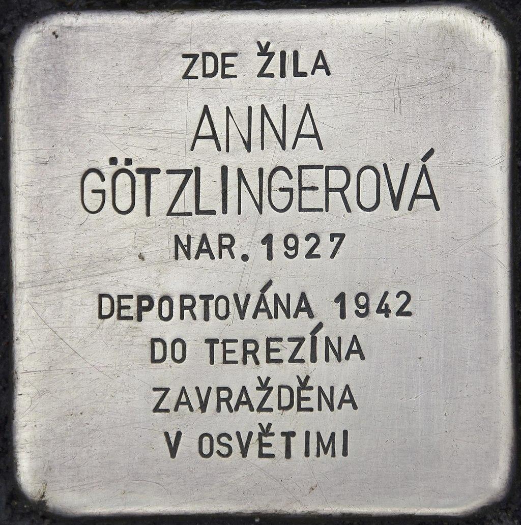 Stolperstein für Anna Götzlingerová.JPG