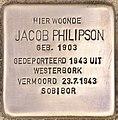 Stolperstein für Jacob Philipson (Leiden).jpg