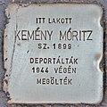 Stolperstein für Kemeny Moritz (Budapest).jpg