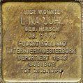 Stolpersteine Köln LIna Juhl Gottesweg 116.jpg