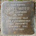Stolpersteine Krefeld, Rosel Mayer (Bruchstraße 31).jpg