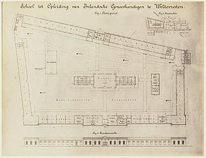 Museum of National Awakening - Original layout of the school