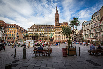 Place gutenberg wikip dia for Chambre de commerce strasbourg