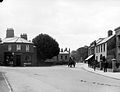 Street scene, possibly in Dublin, Location Identified as Sandymount Green (16024722013).jpg
