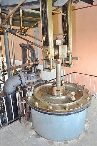 Stretham Old Engine - Image: Stretham Engine Cylinder Top geograph.org.uk 3079266
