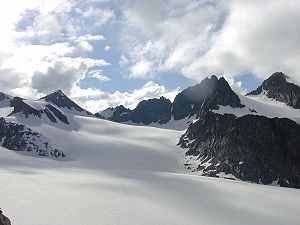 Stubai Alps - Lisenser FernerKogel, Rotgratspitze and Lisenser Spitze in July