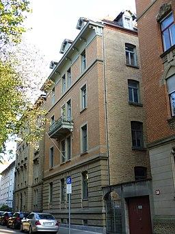 Wildbader Straße in Stuttgart