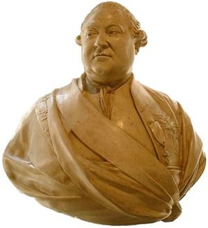 Pierre André de Suffren - Bust of Suffren by Houdon