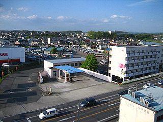 City in Tōhoku, Japan