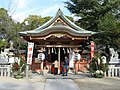Sumiyoshi-jinja (Toyonaka, Osaka) haiden.jpg