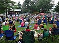 Summit NJ summer concert series music with people.JPG