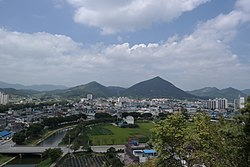 Sunchang-eup from Mt. Daedong - 00 (20130820).jpg
