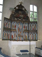 Sund church altar 2009.JPG