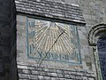 Sundial on Chichester Cathedral - geograph.org.uk - 813986.jpg