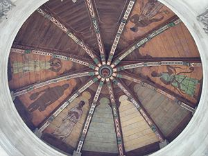 Sunol Water Temple - Image: Sunol water temple ceiling