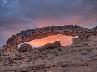 Kane County, Utah - Sunset Arch, Glen Canyon National Recreation Area
