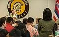 Supreme Court Justice Ruth Bader Ginsburg Visits Mililani High School Oahu Hawaii (51081473566).jpg