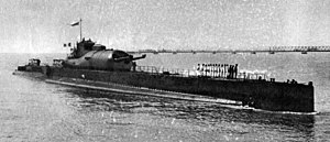 Submarine aircraft carrier - French submarine Surcouf