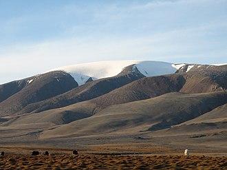 Govi-Altai Province - Sutai Mount (Sutay Uul) in the western part of Govi-Altai Province
