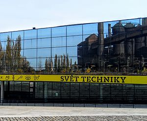Lower Vítkovice - 'World of technic', one of expositions in Nether district Vítkovice