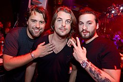 Swedish House Mafia members in December 2011. Image: Matthew Karsten.