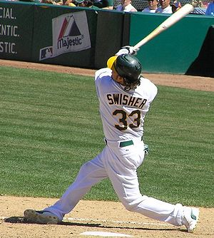 Moneyball - Nick Swisher, the prospect the traditional scouts and statisticians agreed upon.