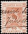 Switzerland Bern 1881 revenue 60c - 28B.jpg