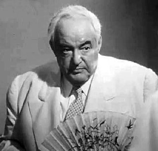 Sydney Greenstreet British-American actor