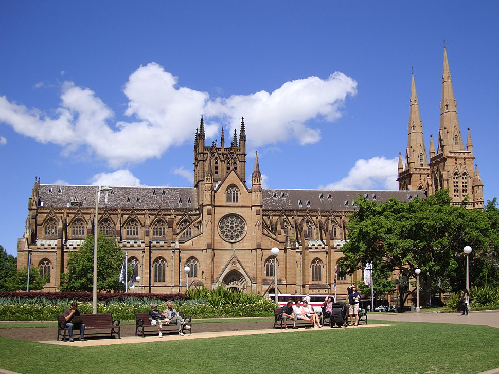 Sydney StMaryCathedral perspective