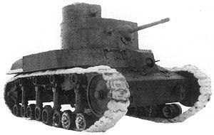 T-24 tank - Image: T 24 tank
