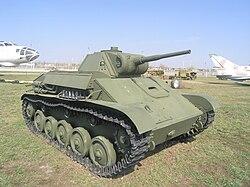 T-70, technical museum, Togliatti-1.jpg