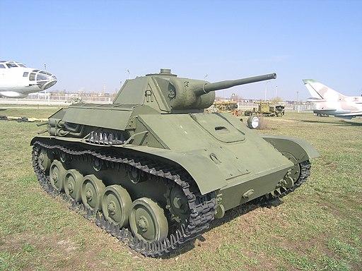 T-70, technical museum, Togliatti-1
