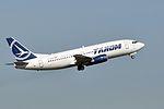 TAROM, Boeing 737-38J, YR-BGB - CDG (18263084895).jpg