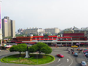 TRA Taoyuan Station and Front Rotary