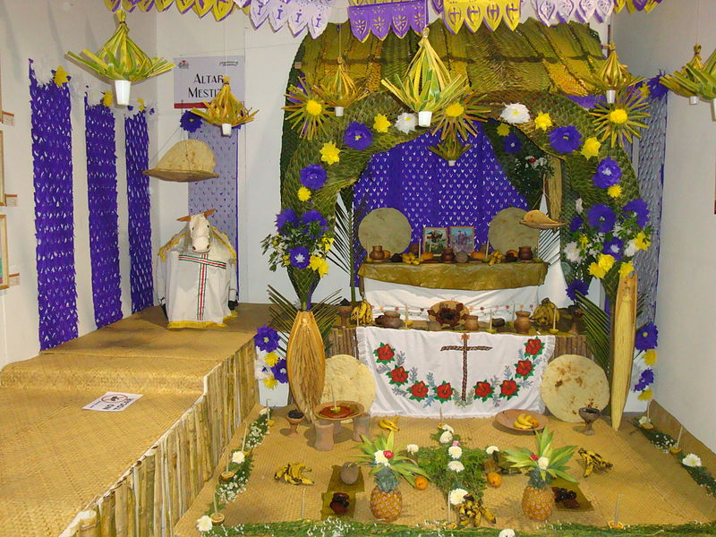 Altar indígenea - Chontal.
