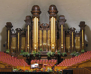 Salt Lake Tabernacle organ Pipe organ in Salt Lake City, Utah, United States