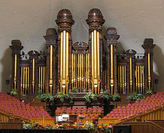 Salt Lake Tabernacle - The Salt Lake Tabernacle organ