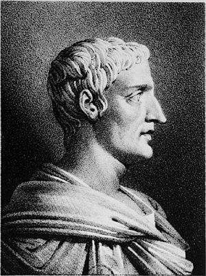 Tacitus on Christ - Portrait of Tacitus, based on an antique bust