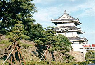 Takamatsu Domain - The moon-viewing turret at Takamatsu Castle
