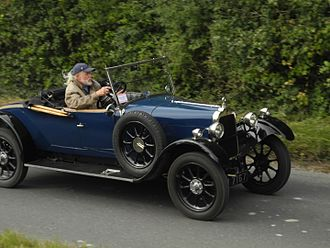 Clément-Talbot - 10-23 9 horsepower open two-seater  1074 cc, first registered December 1926