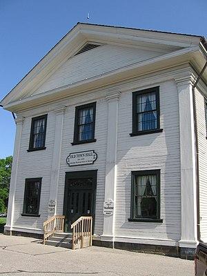 Tallmadge, Ohio - Image: Tallmadge Old Town Hall