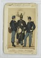 Tambour (in Marsch-Adjustirung), Unterofficier (in Parade), Officier-Stellvertreter (in Parade) (NYPL b14896507-90675).tiff